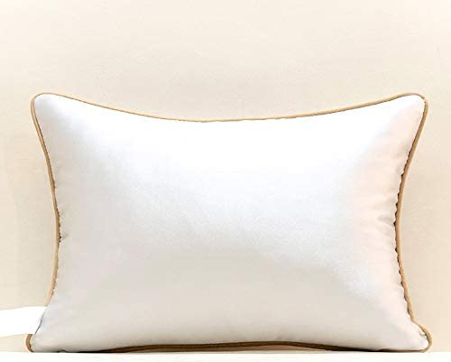 Gold Cushion Embroidered bird finish with Chocolate Sequin detail 43X43cm B-7