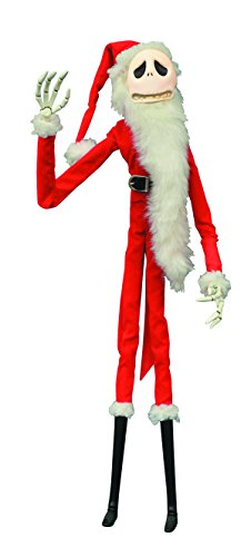 Santa Jack Skellington Costume (Diamond Select Toys The Nightmare Before Christmas Santa Jack Unlimited Coffin Collection)