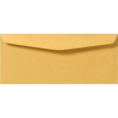 #14 Brown Kraft Regular Envelopes - (5 x 11 1/2) 50 Per Pack