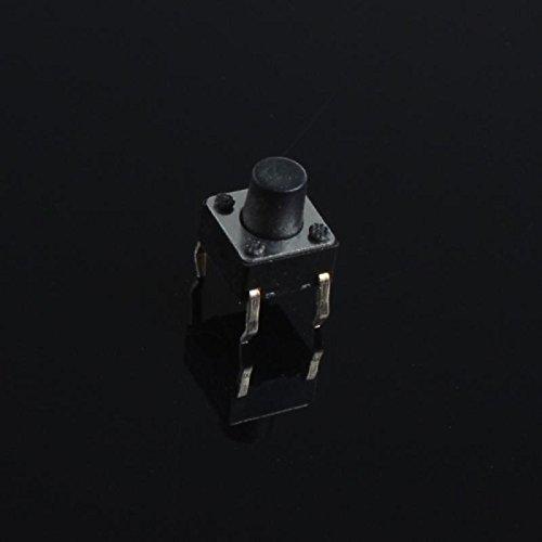 UXOXAS 6x6x5mm Micro Switch Button Touch Switch Small Key-Press Switch(20Pcs)
