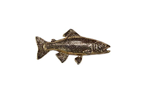 Cutthroat Trout Fish Premium 22k Gold Plated Rare Earth Refrigerator Magnet Gift, FG014PRM
