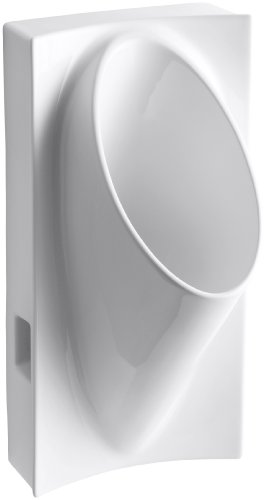 KOHLER K-4918-0 Steward Waterless Urinal, White