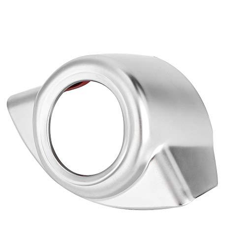 Suuonee Start Engine Cover Trim, 1pc Car Interior Start Engine Stop Cover Trim Fit for Giulia 2017, Silver: