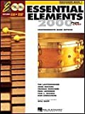 Hal Leonard 17120 Essential Elements 2000 Plus Percussion Book 1 with CD-ROM
