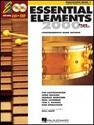 - Hal Leonard 17120 Essential Elements 2000 Plus Percussion Book 1 with CD-ROM