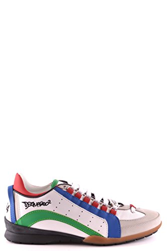DSQUARED2 HOMME W16SN434714M650 MULTICOLORE CUIR BASKETS