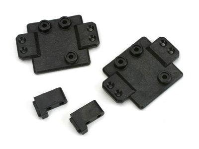 (Losi B1421 Servo Plates & Mounts (2): MRC)