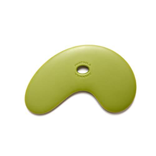 Mudtools Polymer Bowl Rib Green Large Rigid - Ceramics, Pottery, Clay - PB-L-G ()