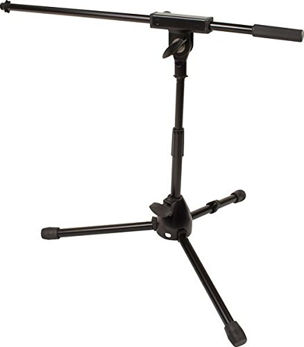 Apex Drum Mic (Ultimate Support JS-MCFB50 JamStands Series Short Mic Stand with Fixed-length Boom)