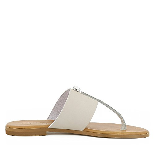 Champagne Sandale Olimpia Femme Shoes Fin Evita Daim qfaZw7Y