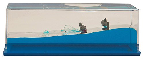 Shark Stress Reliever - Liquid Wave Paperweight Sharks
