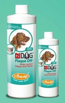 Triple Pet Plaque Off Fresh Breath 8 oz by Triple Pet Products (Benedent)