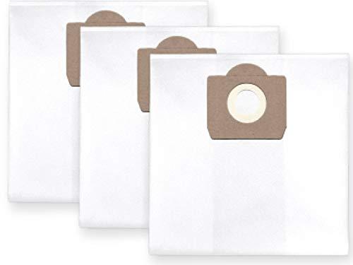 3 x Fieltro Bolsa para el polvo Saco de filtro para Fein/Diseñ o Polvo de 6 capas para Stihl se 61 (S), se 62 Nikos Kassa Janusz