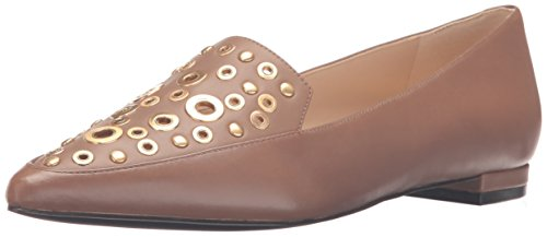Image of Nine West Women's Akeelah Leather Pointed Toe Flat