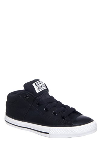 Converse CT Axel Mid Black Youths Trainers (3 Little Kid - Youth Converse 3 Size