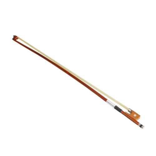 Glarry 1/2 Size Well Balanced Arbor Violin Bow for Student Beginner (1/2)