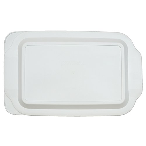 Pyrex 233-PC White Plastic Lid for 3 Quart Oblong Baking Dish 233-PC