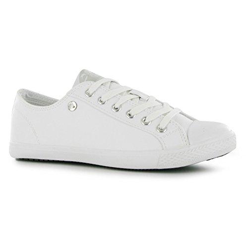 Casual Micro Pompes Mesdames Pro plat lacets Chaussures Lo Chaussures Femme à Dunlop S5qx7wvzq
