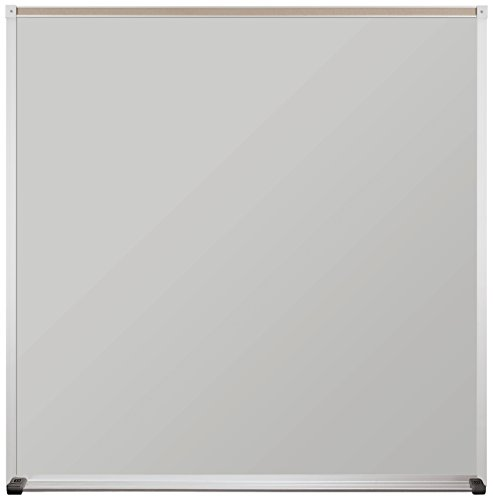 Best-Rite 4 x 4 Feet Projection Plus Whiteboard, Aluminum Trim (204AD-52) by Best-Rite