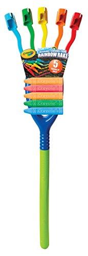- Crayola 03-5078 Rainbow Rake Toy