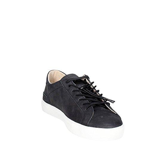 Sneaker D.A.T.E. Newman in pelle nera Nero