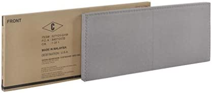 Crown Mark Erin Upholstered Panel Bed in Gray, Queen