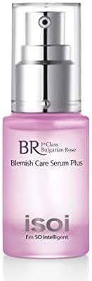 isoi Bulgarian Rose Blemish Care Serum Plus, 20ml (0.68 fl oz) - Blemish Reducing Top Rated Soothing Serum for Sensitive, Acne-Prone Skin