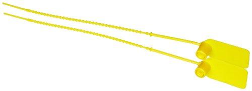 Brady Pull-Tite Seals, Yellow (Pack of 100) by Brady