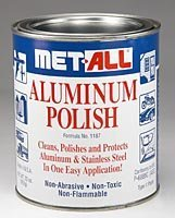 Aircraft Tool Supply Aluminum Polish, Met-All (32 Oz)