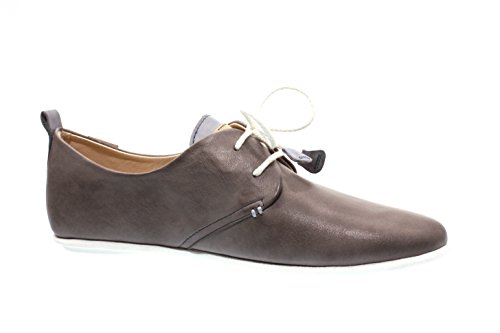 Femmes Chaussures basses d.grey/denim Calabria gris, (d.grey/denim) 917-7123C1-4