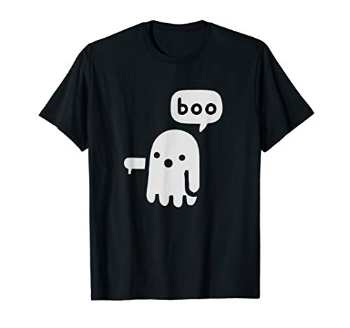 Boo The Ghost - Disapproving Ghost - Boo Ghost T-Shirt