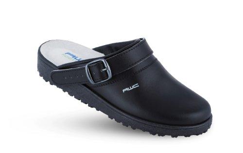 Damen Sandale mit Ristpolster - schwarz - Größe: 40 Schwarz