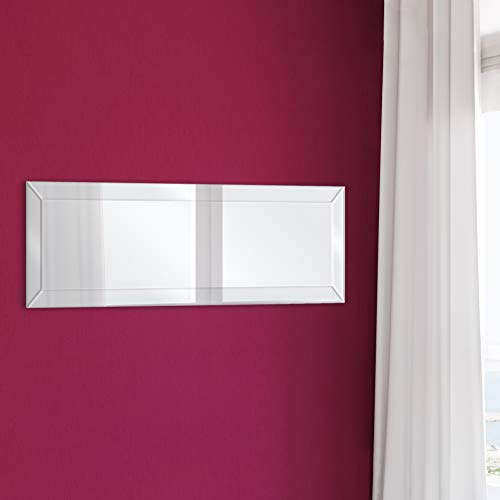Everly Hart Collection Framed Beveled Full Length Wall Mounted Mirror, 14
