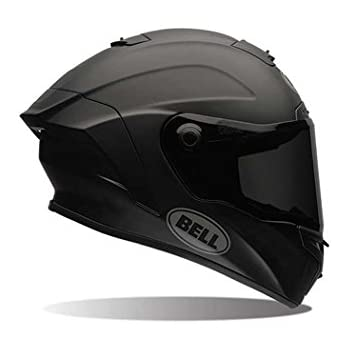 Bell Street Star Full Face Motorcycle Helmet (Solid Matte Black, Small) (Non-Current Graphic)