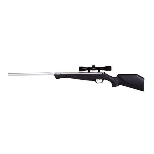 Crosman Fox .177 Nitro Piston Hunting Rifle with 4 x 32 Scope, Silver ()