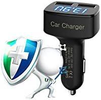 LeEco Le Pro 3 AIエコ版/Le Pro 3 AIスタンダード版BoomboostデュアルUSB車充電器LEDスクリーン付きスマート充電アダプター