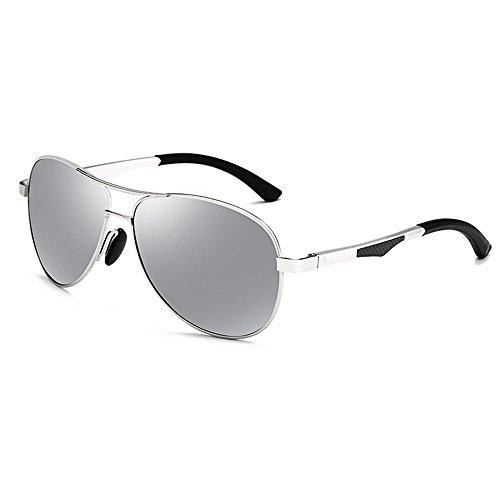 Color de para hombre conducción moda sol D de E Gafas hombres polarizadas para marco de ZHANGRONG Sw0ORgxMq