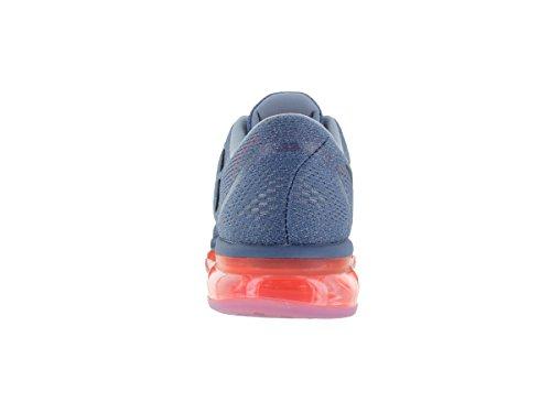 Nike Mens Air Max 2016 Scarpa Da Corsa Ocean Fog / Nero / Brillante Cremisi / Blu Taglia 11,5 M Us