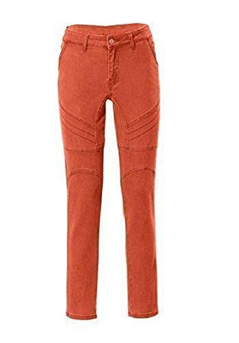 Pantalón Mujer Cardona De Vaqueros Naranja Rick Pitillo EqBpWxPa
