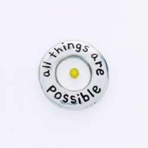 (Bob Siemon Designs Lapel Pin - Mustard Seed -)
