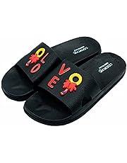 Carlos Unisex Kids Splash Slippers 34 Black