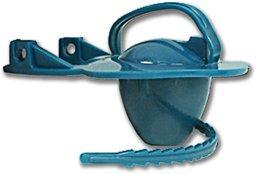 Blue Toilet Tank Flapper W/Rubber Strap