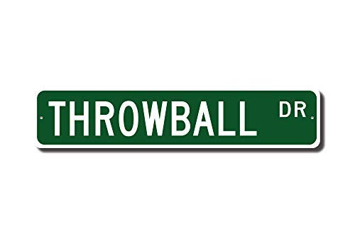 WenNuNa Throwball Sign Throwball Fan Throwball Player Throwball Noncontact Ball Sport Street Sign Funny Words Tin Sign - Player Throwball