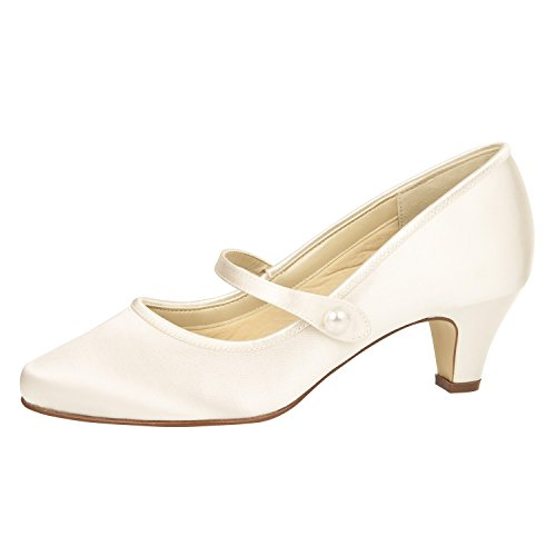 Rainbow Club Brautschuh HEATHER von Elsa Coloured Shoes ivory