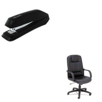 High Back Executive Glove - KITALESP41LS10BSWI54501 - Value Kit - Best Sparis Executive High-Back Swivel/Tilt Chair (ALESP41LS10B) and Swingline Standard Strip Desk Stapler (SWI54501)