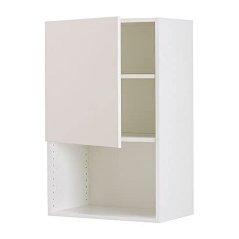 IKEA FAKTUM - Mueble de pared para horno de microondas, APPLÅD ...