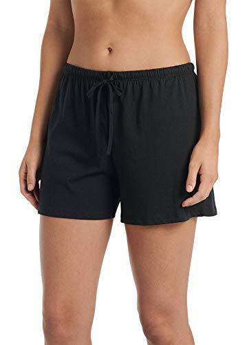 Jockey Women's Sleepwear 100% Cotton Boxer, black, ()