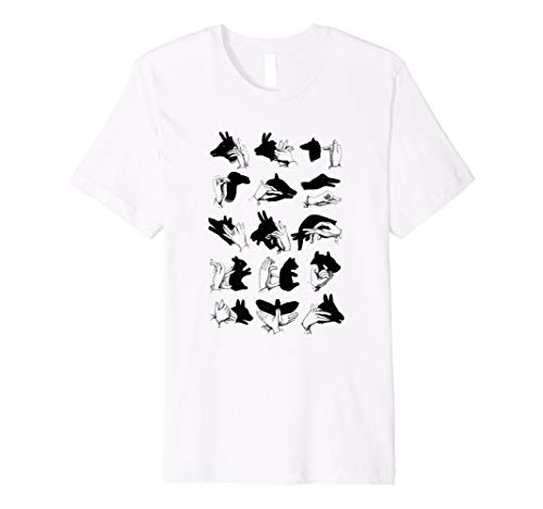 Hand Shadow Puppets: Hand Shadow Puppetry Shirt
