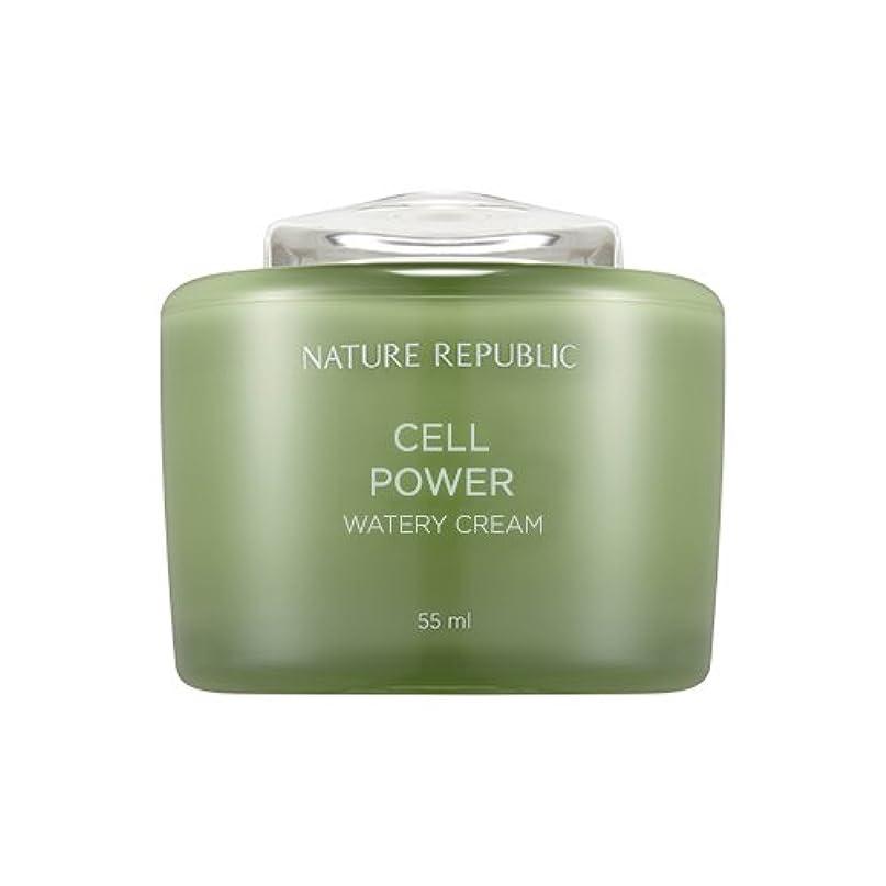 北東矩形激しいNature Republic Cell Boosting Watery Cream 55ml / ネイチャーリパブリックセルブースティングウォーターリークリーム 55ml [並行輸入品]