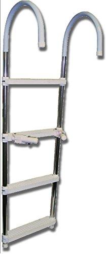 SeaSense 4-Step Boat Ladder - 4 Ladder Step Boat